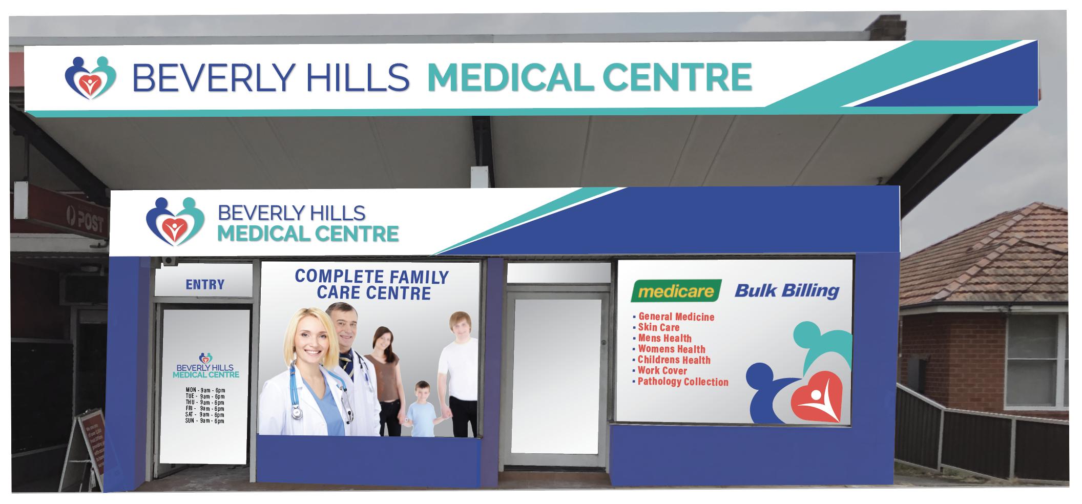 shopfront design medical health care